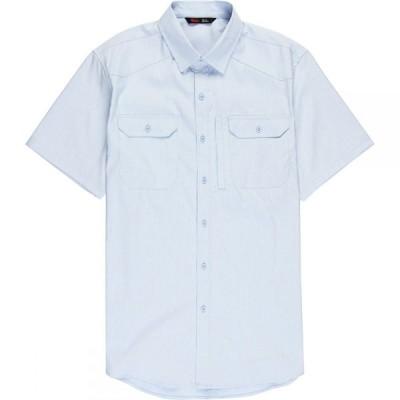 ストイック Stoic メンズ 半袖シャツ トップス Badlands Hiking Shirt Light Blue