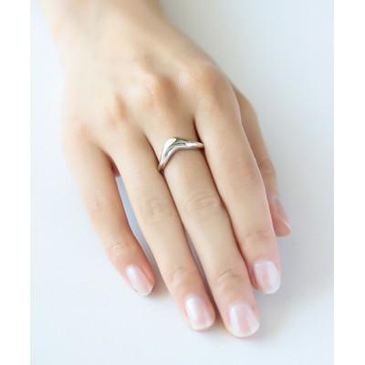 指輪 silver925 V字リング(ニッケルフリー)