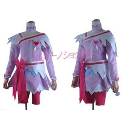 ドキドキ!プリキュア 相田 マナ(あいだ マナ) キュアハート風 コスプレ衣装 cosplay コスチューム