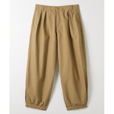 大きいサイズ 裾サイドタックアラジンパンツ ,スマイルランド, パンツ, plus size pants