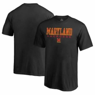 Fanatics Branded ファナティクス ブランド スポーツ用品  Fanatics Branded Maryland Terrapins Youth Black True Sport Lacrosse T-Shi