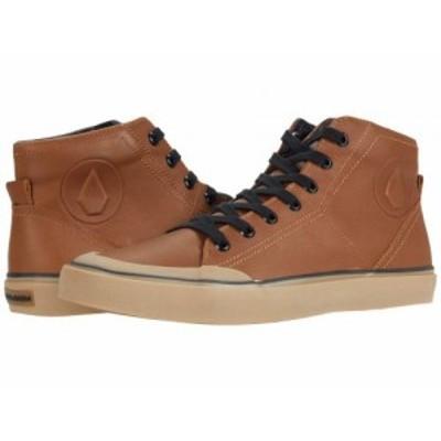 Volcom ヴォルコム メンズ 男性用 シューズ 靴 スニーカー 運動靴 Hi Fi Lx Shoes Rust【送料無料】