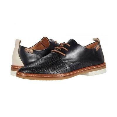 Pikolinos レディース 女性用 シューズ 靴 オックスフォード 紳士靴 通勤靴 Santander W7C-4987C1 - Black