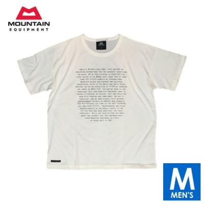 MOUNTAIN EQUIPMENT(マウンテンイクイップメント) GRAPHIC TEE ABOVE&BEYOND メンズ 半袖Tシャツ 【トレイルランニング/ジョギング/アウトドア/ウェア/トップス