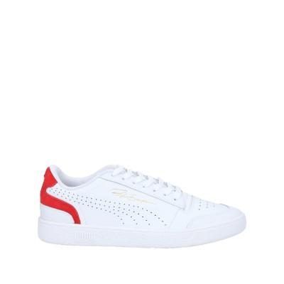 プーマ PUMA スニーカー&テニスシューズ(ローカット) ホワイト 10 革 スニーカー&テニスシューズ(ローカット)