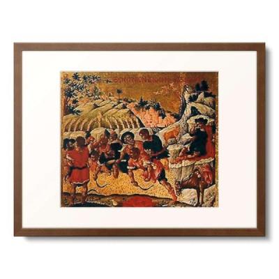 作者不明 (イコン Ikone, orthodox (Th.Poulakis?)) 「Der Traum des Joseph.」