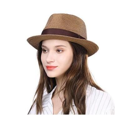 (シッギ) Siggi 帽子 メンズ 麦わら帽子 大きいサイズ ハット むぎわら帽子 中折れ帽 ストローハット パナマハット 紳士用 中折れハット 夏