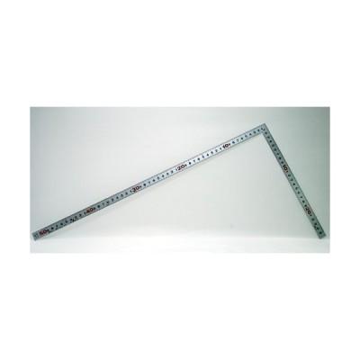 シンワ測定 曲尺平ぴた シルバー 50cm/1尺5寸 併用目盛 10044