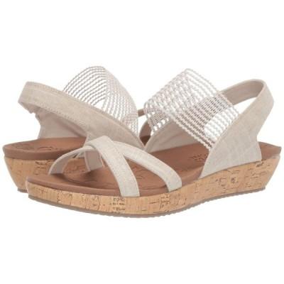 スケッチャーズ SKECHERS レディース サンダル・ミュール シューズ・靴 Brie - Dawdle Natural