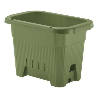 リッチェル 水ラク 菜園上手プランター 45型 グリーン 代引不可