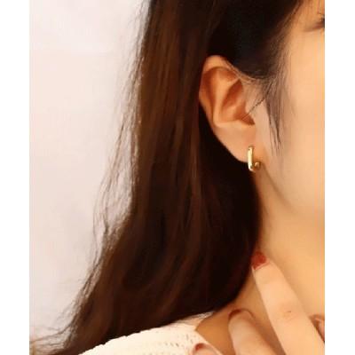 FRP / シンプル U字ピアス 金属アレルギー対応シルバー925 WOMEN アクセサリー > ピアス(両耳用)