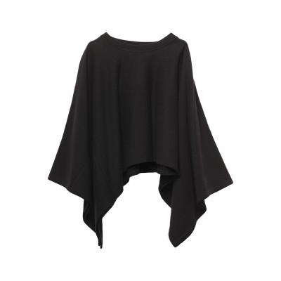 MM6 メゾン マルジェラ MM6 MAISON MARGIELA スウェットシャツ ブラック XS コットン 100% / ポリウレタン スウェッ