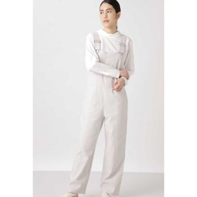 HUMAN WOMAN / ≪Japan Couture≫リネンコットンオーバーオール