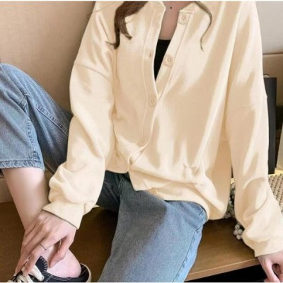 カーディガン レディース アウター トップス 長袖 薄手 秋 春 ファッション カジュアル 女性  無地 おしゃれ ファッション 秋冬新作 お出掛け 代引不可