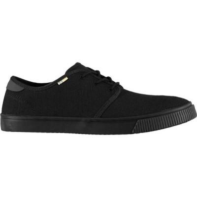 トムス Toms メンズ スニーカー シューズ・靴 Carlo Sneakers Black Mono