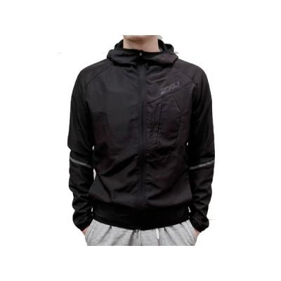 2XU ツータイムズユー メンズ エアーフロー ウーブン フーディ ラインド ジャケット スポーツ トレーニング ウェア ジャケット