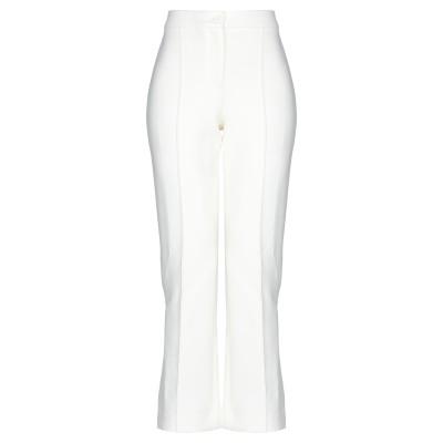 セオリー THEORY パンツ ホワイト 4 ポリエステル 53% / ウール 43% / ポリウレタン 4% パンツ