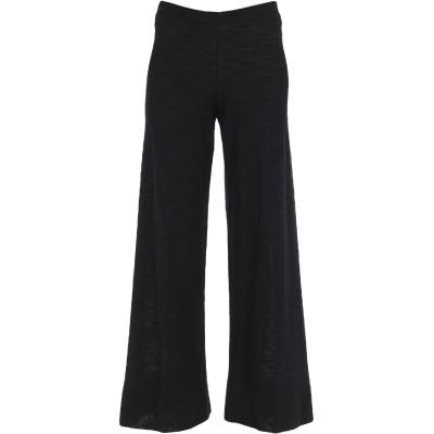 NEERA パンツ ブラック 40 コットン 47% / リネン 34% / ナイロン 19% パンツ