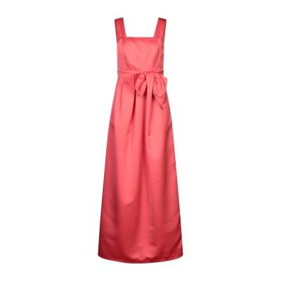 パロッシュ P.A.R.O.S.H. ロングワンピース&ドレス コーラル S ポリエステル 100% ロングワンピース&ドレス