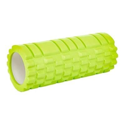 フォームローラー 筋膜リリース ショート サイズ スポーツ フィットネス 丸洗いOK ライトグリーン freeサイズ ストレッチ ローラー