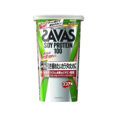 ザバス ソイプロテイン100 ココア味 231g(約11食分) 明治