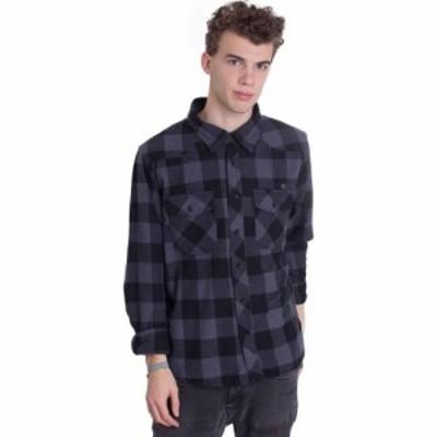 ブランディット Brandit メンズ シャツ トップス - Check Black Grey - Shirt black