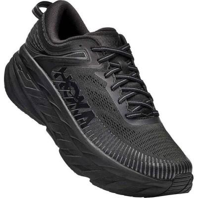 ホカ オネオネ Hoka One One メンズ ランニング・ウォーキング シューズ・靴 Bondi 7 Shoe Black/Black