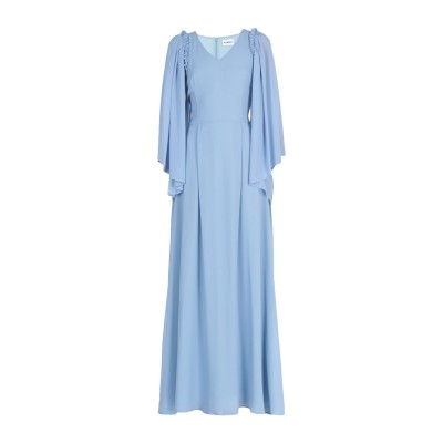 アイネア AINEA ロングワンピース&ドレス スカイブルー 40 ポリエステル 100% ロングワンピース&ドレス