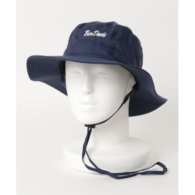LB/S / 【BEN DAVIS/ベンデイビス】UVカット 撥水素材 ツバ広 フェス定番 アウトドア ハット RAIN HAT BDW-9474 MEN 帽子 > ハット