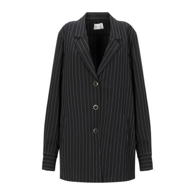 GESTUZ テーラードジャケット ブラック 34 ポリエステル 98% / レーヨン 2% テーラードジャケット