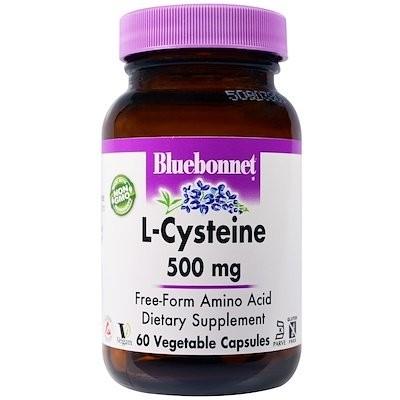 L-Cysteine, 500 mg, 60 Veggie Capsules