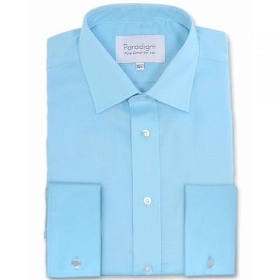 パラダイム Paradigm メンズ シャツ トップス Double Cuff 100% Cotton Non-Iron Shirt Black