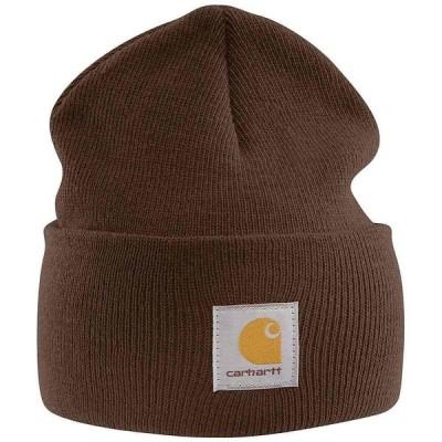 カーハート Carhartt ユニセックス ニット ニットキャップ 帽子 Acrylic Watch Hat Dark Brown