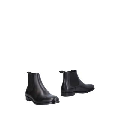 ドルチェ & ガッバーナ DOLCE & GABBANA ショートブーツ ブラック 11 牛革(カーフ) 59% / レーヨン 21% / コットン