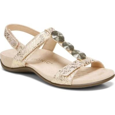 バイオニック VIONIC レディース サンダル・ミュール シューズ・靴 Farra Slingback Sandal Blush Fabric