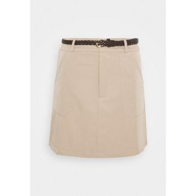 ファッションモンキー スカート レディース ボトムス SAVANAH SKIRT - Mini skirt - beige