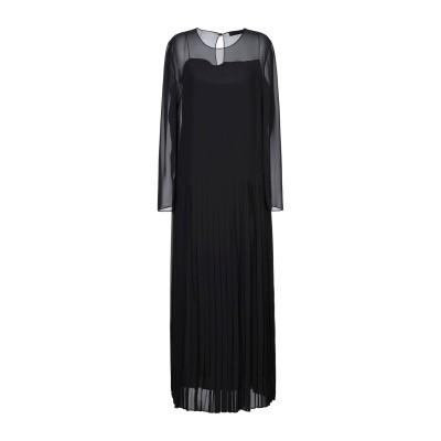 アレッサンドロデラクア ALESSANDRO DELL'ACQUA ロングワンピース&ドレス ブラック 42 ポリエステル 100% ロングワンピー