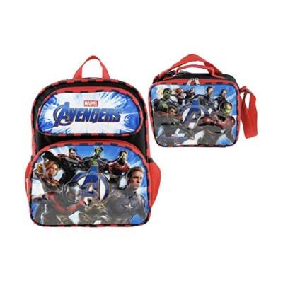 """【平行輸入品】 Marvel Avengers Endgame 16"""" Backpack + Insulated Lunch Box + Notebook with Pen"""