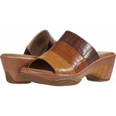 リアルト Rialto レディース サンダル・ミュール シューズ・靴 Vobbia Brown Multi Smooth