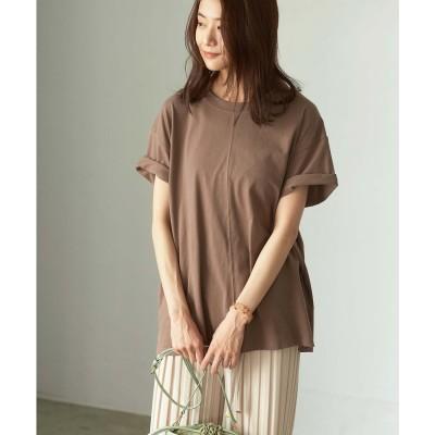 ジーラ GeeRA 【WEB限定】センターシームTシャツ (モカ)