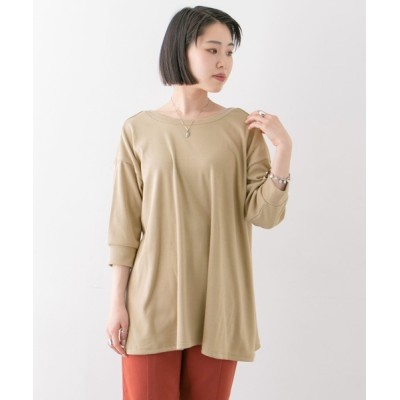 URBAN RESEARCH OUTLET / バックUフレアカットソー∴ WOMEN トップス > Tシャツ/カットソー