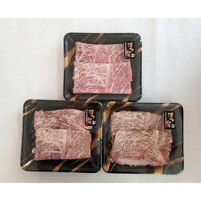 A4 博多和牛 すき焼き用 もも肉3パック(計約500g)