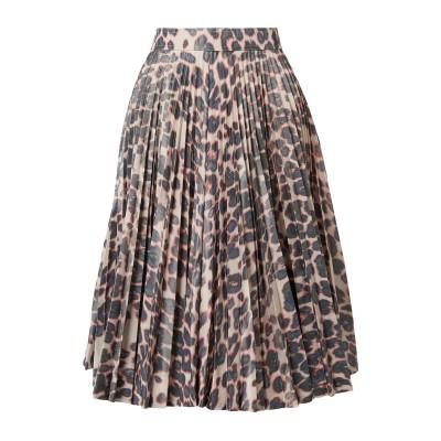 CALVIN KLEIN 205W39NYC ひざ丈スカート ライトブラウン 48 ポリエステル 65% / シルク 35% ひざ丈スカート