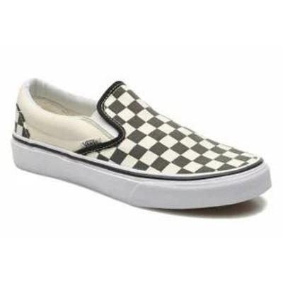 Vans レディーススニーカー Vans Trainers Classic Slip On Multicolor (Checker