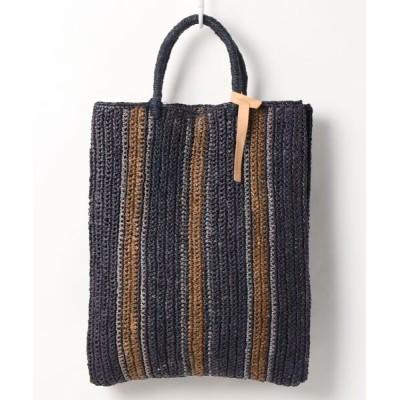 INTER-CHAUSSURES / 【gabriele frantzen】ラフィアショッパーバッグ(Q07147) WOMEN バッグ > トートバッグ
