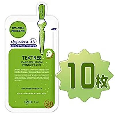 【正規品】メディヒール  ティーツリーケアソリューションエッセンシャルマスクEX10枚セット / MEDIHEAL Teatree Care Solution Essential Mask 10she