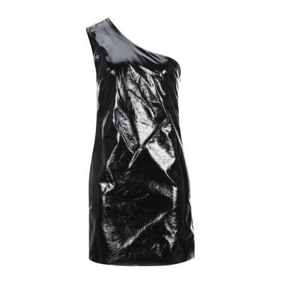 ジジル JIJIL ミニワンピース&ドレス ブラック 44 ポリエステル 64% / ポリウレタン 36% ミニワンピース&ドレス