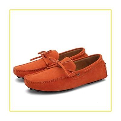 新品GordonKo Fashion Loafers for Men Leather Flats Driving Shoes Trendy Lightweight Breathable Boat Shoes並行輸入品