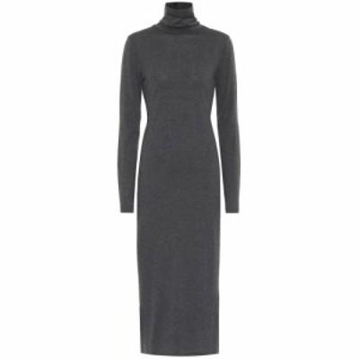 ラルフ ローレン Polo Ralph Lauren レディース ワンピース ミドル丈 ワンピース・ドレス Wool-blend turtleneck midi dress Grey