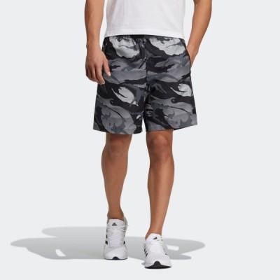 返品可 アディダス公式 ウェア ボトムス adidas ウーブン カモ ショーツ / Woven Camo Shorts coupon対象0429